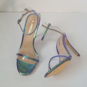 Sexy Holographic sandals New 🧜♀️